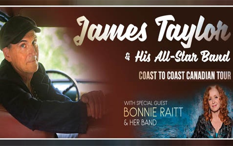 POSTPONED James Taylor & His All-Star Band with Bonnie Raitt
